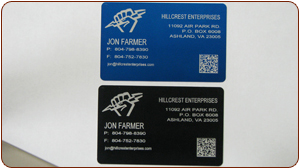 Example of laser marked tags.